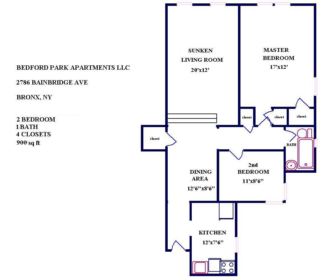 Bedford Hill Apartments: Four Seasons Realty Group LLC